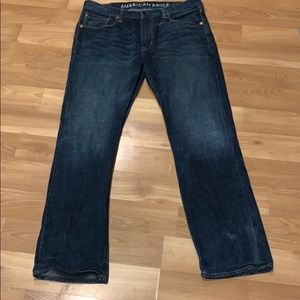 AE American Eagle slim straight jeans size 36x32